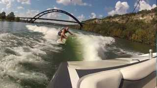 Dave West with Austin Wakesurf - Wakesurf and wakesurfing in Texas