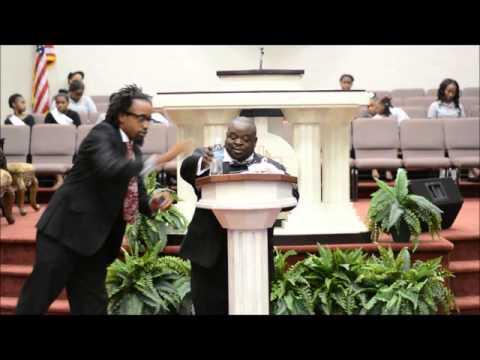 Rev Richard Prince 1st sermon