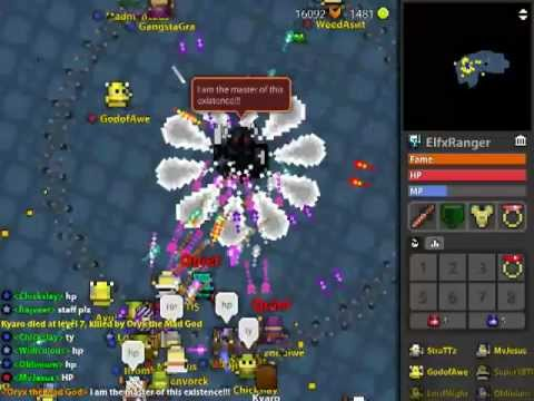 Realm of the mad god lags