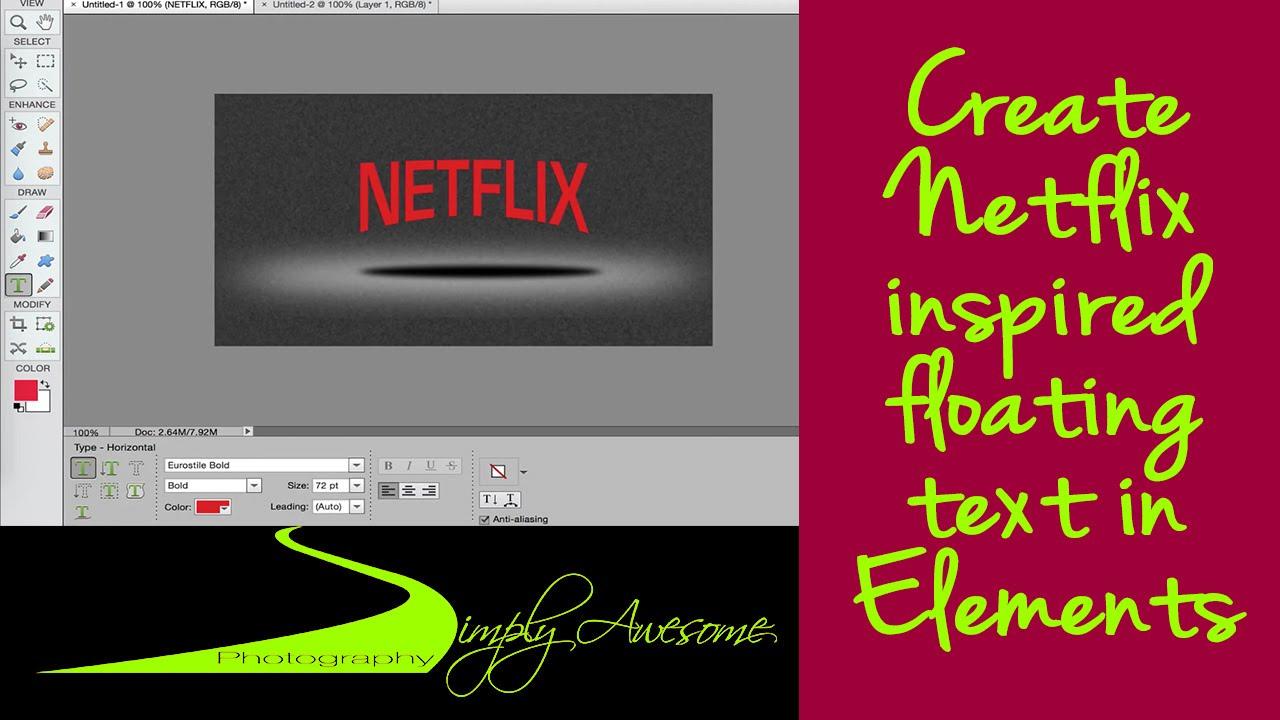 Photoshop Elements Floating Windows - YouTube