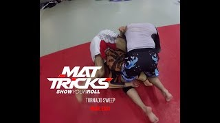 Tornado Sweep Made Easy by Aaron Milam, 3rd Degree Black Belt under John Danaher and Renzo Gracie