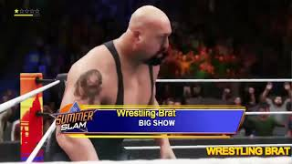 Big Show Vs Shane Thorne - WWE Gameplay PS4 (WWE 2K20)