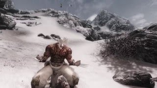 Skyrim Mods PC - Unarmed Claw Combat Animation (Fight like Wolverine)