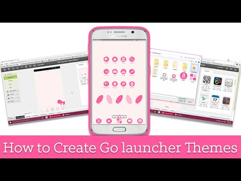 How To Create Go Launcher Themes | Android Tutorial