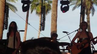 "Charlotte Gainsbourg ""Greenwich Mean Time"" @ Coachella 2010"