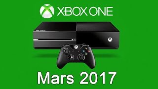 XBOX ONE - Les Jeux Gratuits de Mars 2017
