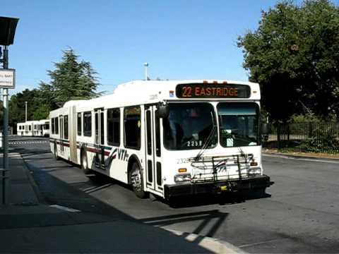 Vta Bus Palo Alto Youtube