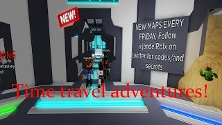 Roblox Time Travel Adventures new map