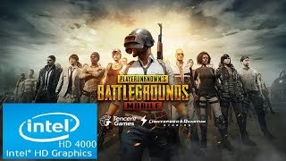 PLAYER UNKNOWN'S BATTLEGROUND MOBILE | Intel HD 4000 | Core i3 | Low Spec PC |