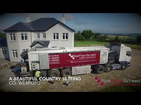 A Beautiful Country Setting | Fast Floor Screed | Co. Wexford