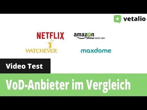 Video on Demand Anbieter im Vergleich
