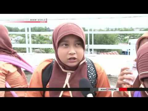 Tsunami drills held for Aceh Children