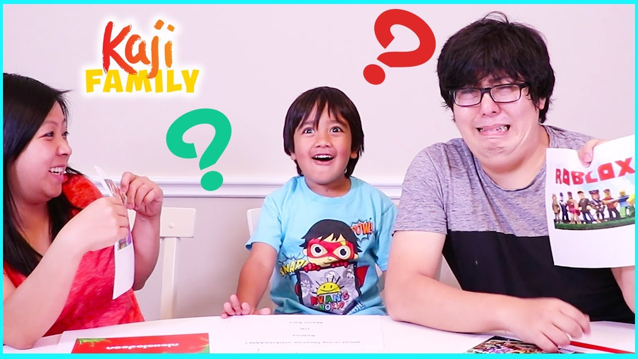 Who Knows Ryan Better Mommy or Daddy?? Favorite Video Games???
