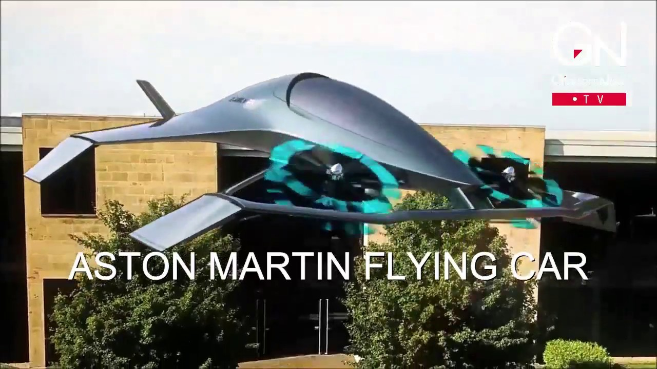Aston Martin Flying Car Is A New Toy For James Bond Youtube