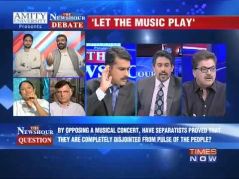 The Newshour Debate: CM backs concert, separatists oppose - Part 3