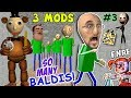BALDIs BASICS of FNAF EDUCATION & CLONING MOD + IM BALDI vs. Principal (FGTEEV Cheat Escape #3)