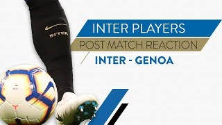 "INTER 5-0 GENOA | Joao Mario Interview: ""Great performance, I thank the fans for their backing"""
