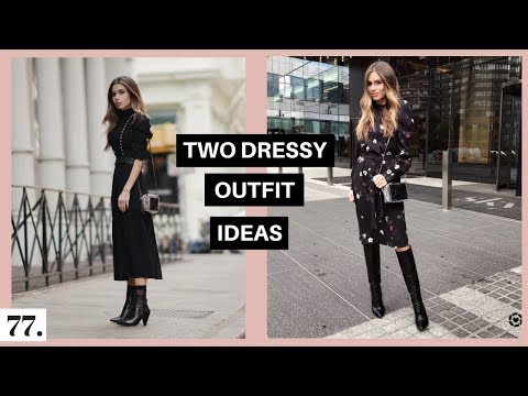 Two Fall Dressy Outfit Ideas | 12 Hour Video Shoot Day