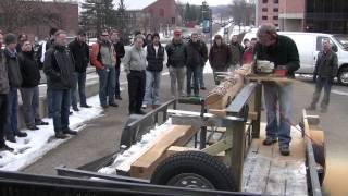Homemade Chainsaw Sawmill