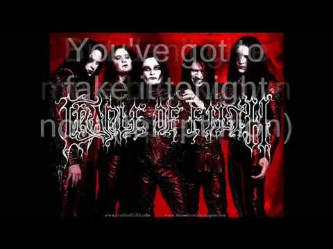 Cradle of Filth - Temptation (lyrics)