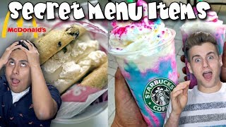 Secret Menu Items You Never Knew About!