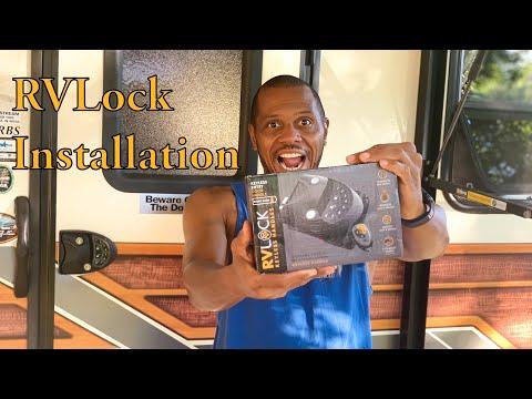 rvlock-install-~-keyless-entry-rv-door-lock-~-diy-rv-upgrade-~-poa-vlog