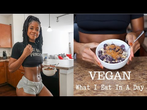 What I Eat In A Day| Balanced Vegan Diet