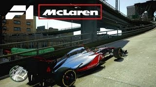 McLaren MP4-27 - Formula One racing car - GTA IV