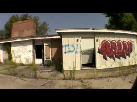 Abandoned Satanic Rituals Foreign Legion Post Urban Exploring, Urbex