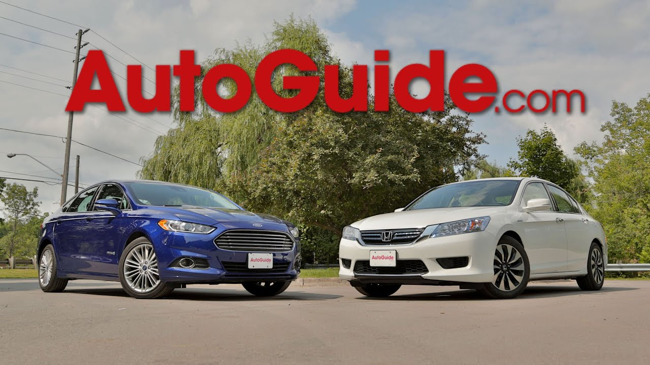2017 Honda Accord Hybrid Vs Ford Fusion