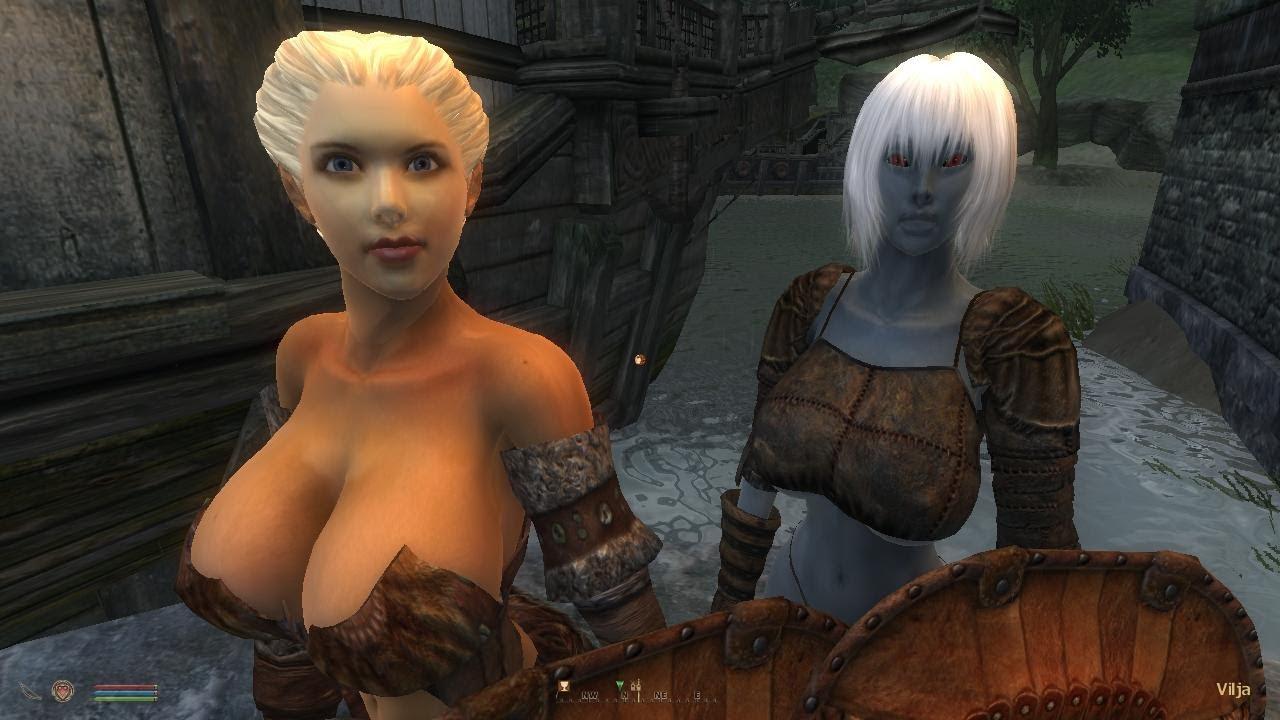 Oblivion Sexy Girls