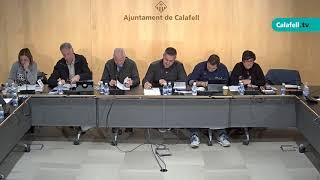Ajuntament de Calafell: 2a sessió plenària extraordinària, 27 de desembre de 2017