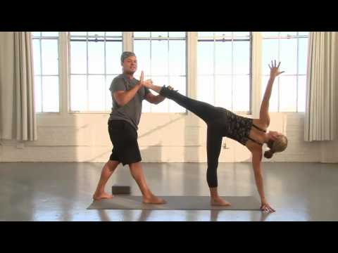 Yoga Journal at Home: Standing Hip Openers with Baron Baptiste