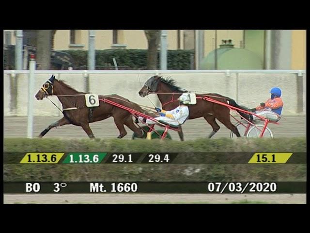2020 03 07 | Corsa 3 | Metri 1660 | Premio Donne Nello Sport