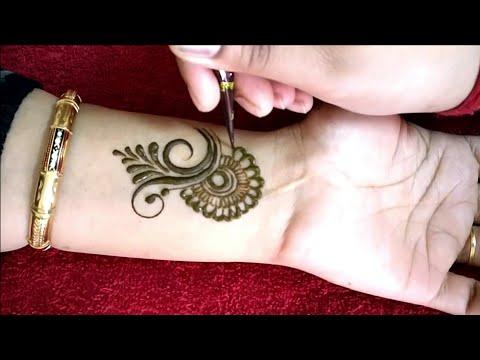Latest Stylish Arabic Mehndi Design || Arham Mehndi Designs thumbnail