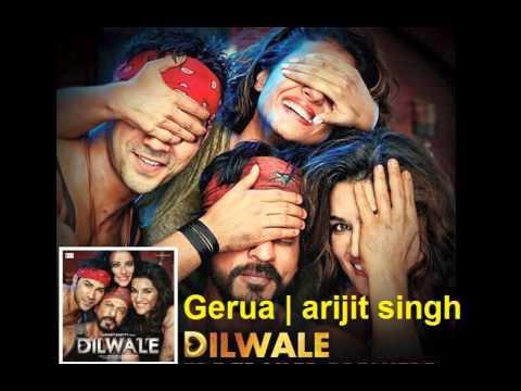 Gerua ( Dilwale ) - Arijit Singh | Pritam | Shah Rukh Khan | Varun