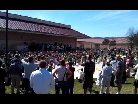 Kermit King Elementary School Flash Mob