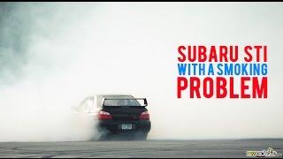 Subaru WRX STI AWD Donut HOONING!