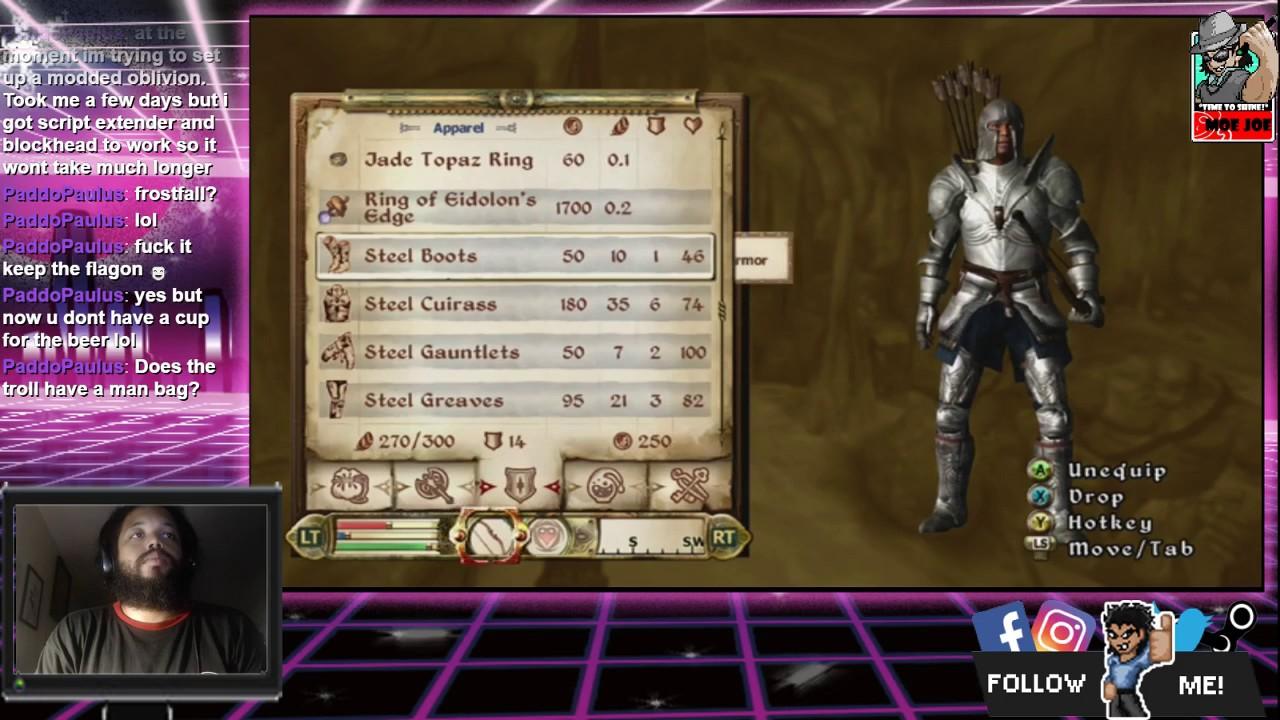 TIHYDP Fighter's Guild Mission: The Elder Scrolls IV: Oblivion [12 Hour  Stream] (Part 4)