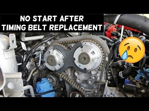 CAR DOES NOT START AFTER TIMING BELT REPLACEMENT. WHAT YOU NEED TO KNOW