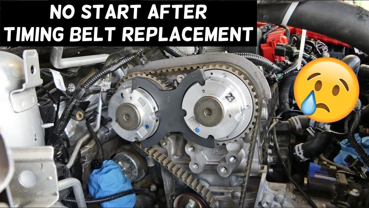 CAR DOES NOT START AFTER TIMING BELT REPLACEMENT  WHAT YOU NEED TO KNOW