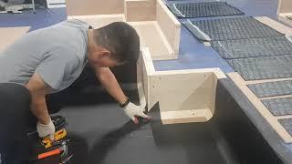 방수기능사 실기 한중건설기술학원 동영상 처음부터 끝까지…