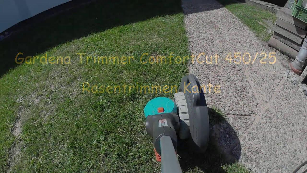 gardena rasen trimmer comfortcut 450 25 gopro hero3. Black Bedroom Furniture Sets. Home Design Ideas