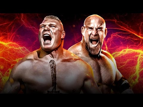 BROCK LESNAR vs GOLDBERG - WWE SURVIVOR SERIES 2016 [WWE 2K17]