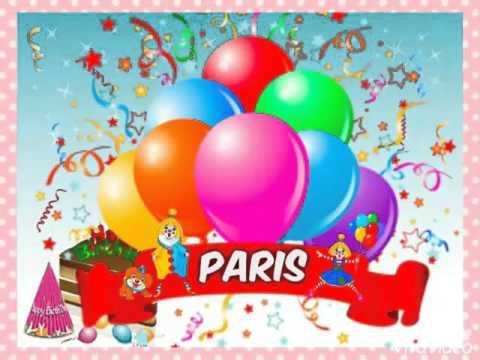 Happy Birthday Paris Nicole Youtube