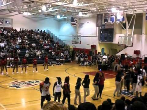 American Senior High School Prep Rally