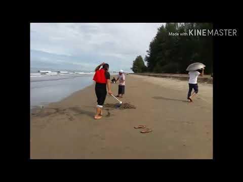 Minggu Ceria Di Pantai Rancong Lhokseumawe Aceh Youtube