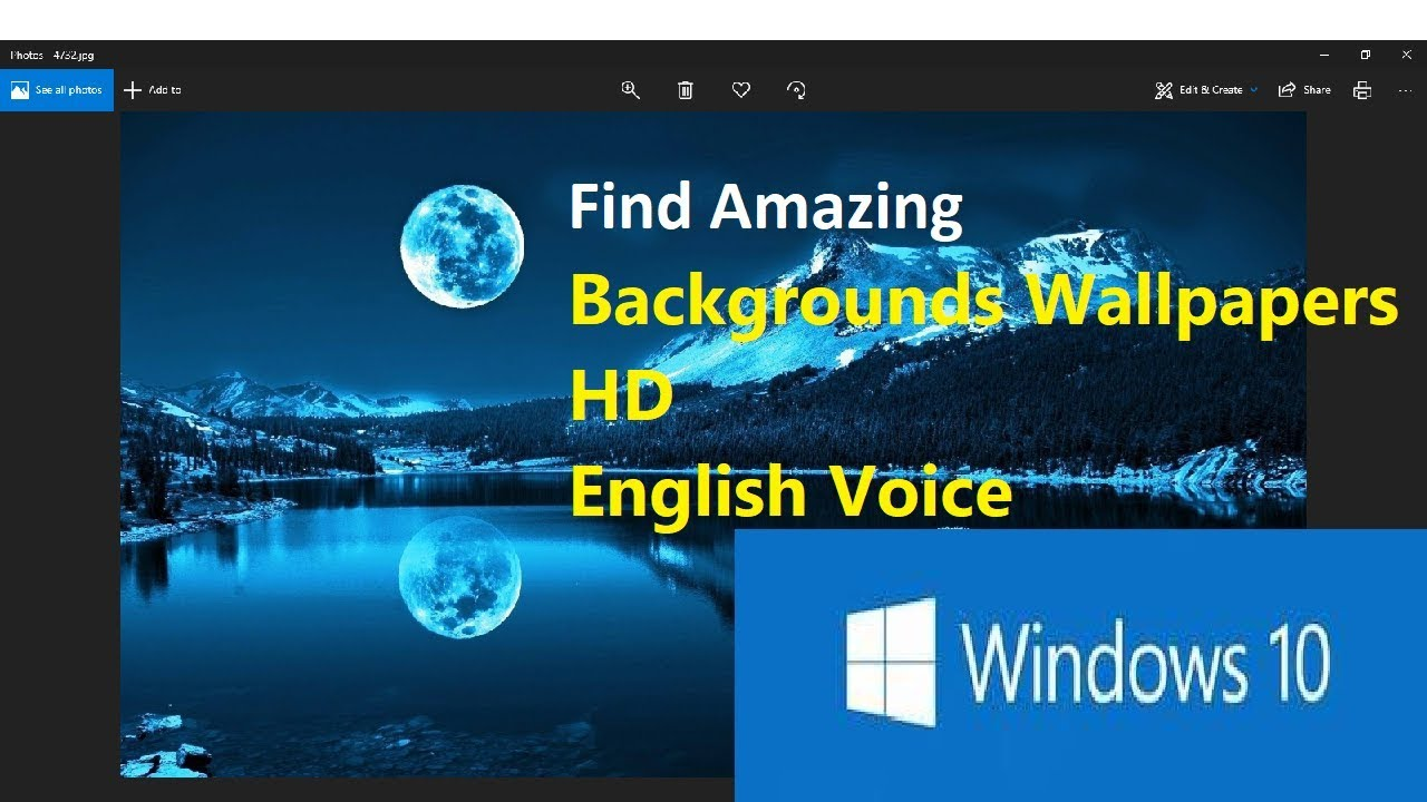 How To Get Windows 10 Wallpaper Hd And Windows 10 Wallpaper 4k