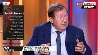 Tunisie vs Angleterre - Le débrief du Match 18/06/2018