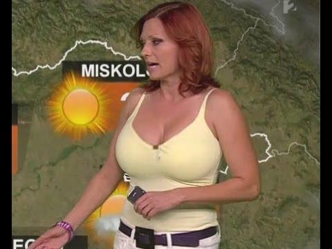 Gaál Noémi HD 2013 07 08 HD Időjárás - Sexy Hungarian Weather Forecast Girl thumbnail
